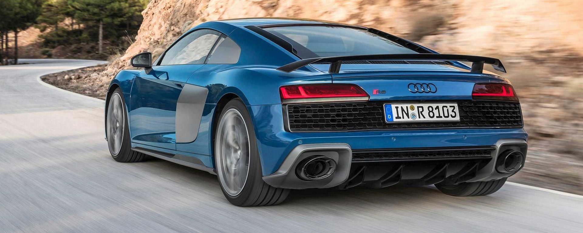 Audi R8 2019: restyling per coupé e spyder, rimane il V10
