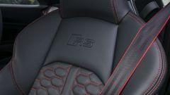 Audi RS 5 Coupé 2017: dettaglio del sedile