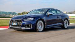 Audi RS 5 Coupé 2017: il test in pista