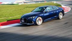 Audi RS 5 Coupé 2017: la prova in pista a Misano
