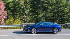 Audi RS 5 Coupé 2017: vista laterale