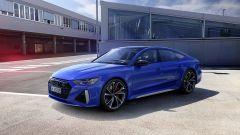 Audi RS 7 Sportback in tinta Blu Nogaro