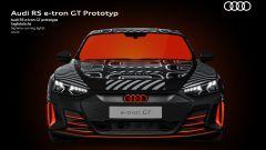 Audi RS e-tron GT, il frontale