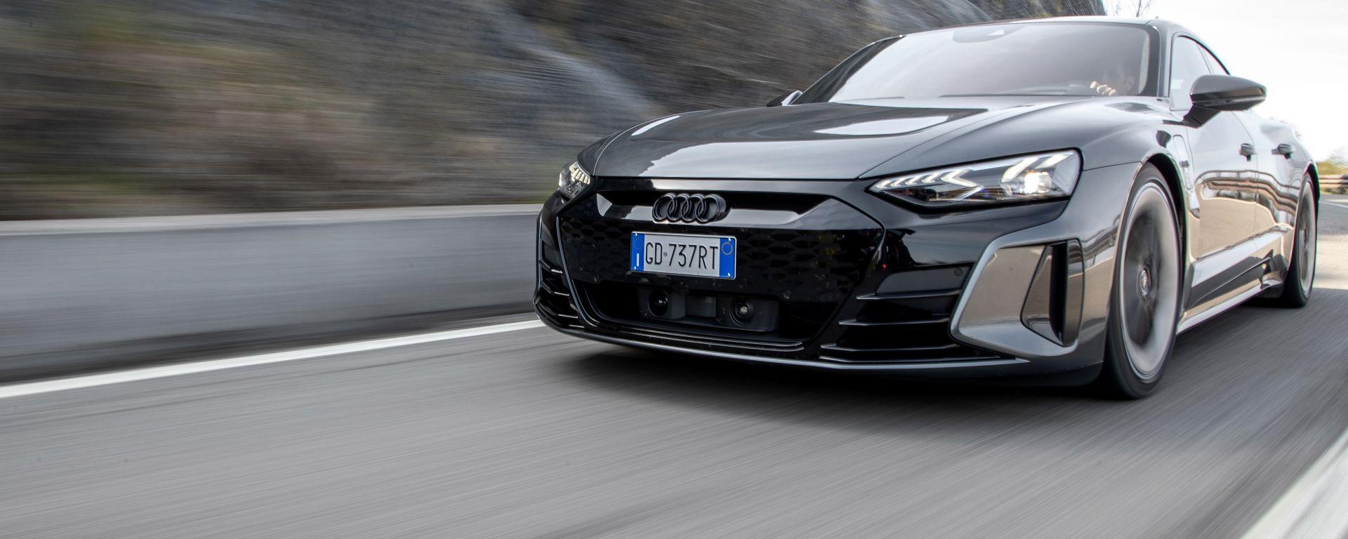 Audi RS e-tron GT, la fotogallery