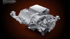 Audi RS e-tron GT, trasmissione posteriore a due velocità
