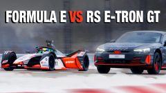 Audi RS e-tron GT vs Formula E, sfida in video con Nico Rosberg
