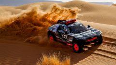 Elettrica, e con range extender: i test estremi di Audi RS Q e-tron per Dakar 2022