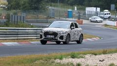 Audi RS Q3 2019 durante i test al Nurburgring