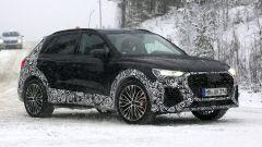 Nuova Audi RS Q3 2019: più scoperta nelle nuove foto spia  - Immagine: 2
