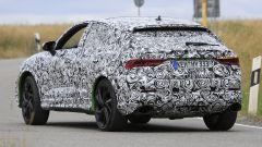 Audi RS Q3 Sportback vista da vicino, le foto spia