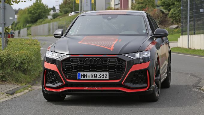 Audi RS Q8 2020 al Salone di Los Angeles