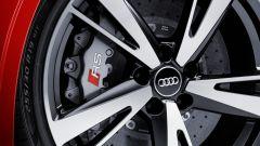Audi RS3 2017: dettaglio del freno anteriore
