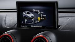 Audi RS3 2017: il display dell'infotainment