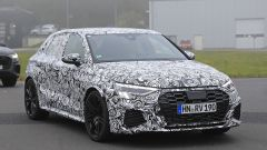 Audi RS3 2020 all'ingresso del Nurburgring