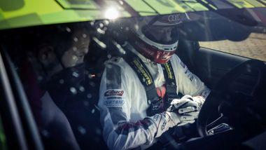 Audi RS3: il record con il pilota e collaudatore Frank Stippler