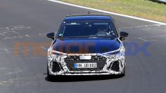 Audi RS3, nuove foto spia: frontale