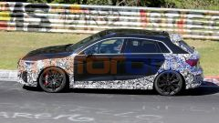 Audi RS3, nuove foto spia: laterale