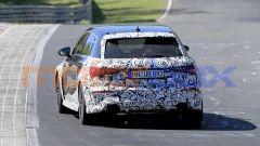 Audi RS3, nuove foto spia: posteriore