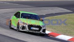 Audi RS3 Sedan 2020, foto spia al Nurburgring