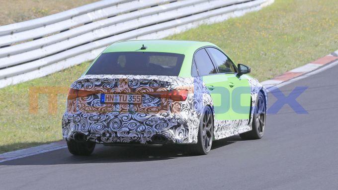 Audi RS3 Sedan 2020: sembra confermato il 5 cilindri da 2,5 litri