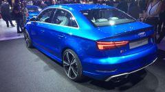 Audi RS3 Sedan, la coda