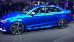 Audi RS3 Sedan, profilo