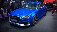 Audi RS3 Sedan, vista anteriore