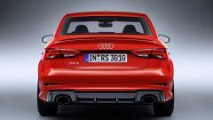 Audi RS3 Sedan: vista posteriore