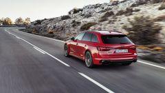 Audi RS4 Avant: 3/4 posteriore