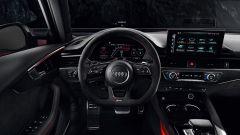 Audi RS4 Avant: dettaglio posto di guida