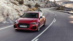 Audi RS4 Avant: il frontale