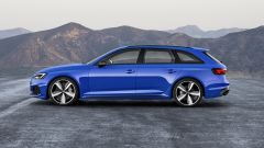 Audi RS4 Avant statica laterale