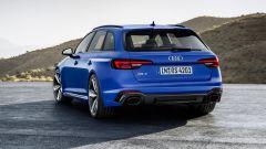 Audi RS4 Avant statica posteriore