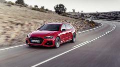 Audi RS4 Avant: vista 3/4 anteriore