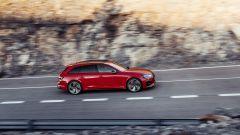 Audi RS4 Avant: vista laterale