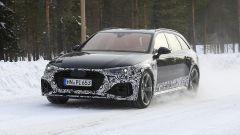 Audi RS4 Facelift: le prime foto spia - Immagine: 1