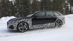 Audi RS4 Facelift: le prime foto spia - Immagine: 4