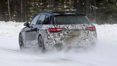 Audi RS4 Facelift: le prime foto spia - Immagine: 8