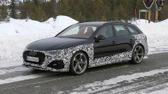 Audi RS4 Facelift: le prime foto spia - Immagine: 10