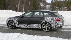 Audi RS4 Facelift: le prime foto spia - Immagine: 11
