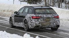 Audi RS4 Facelift: le prime foto spia - Immagine: 13