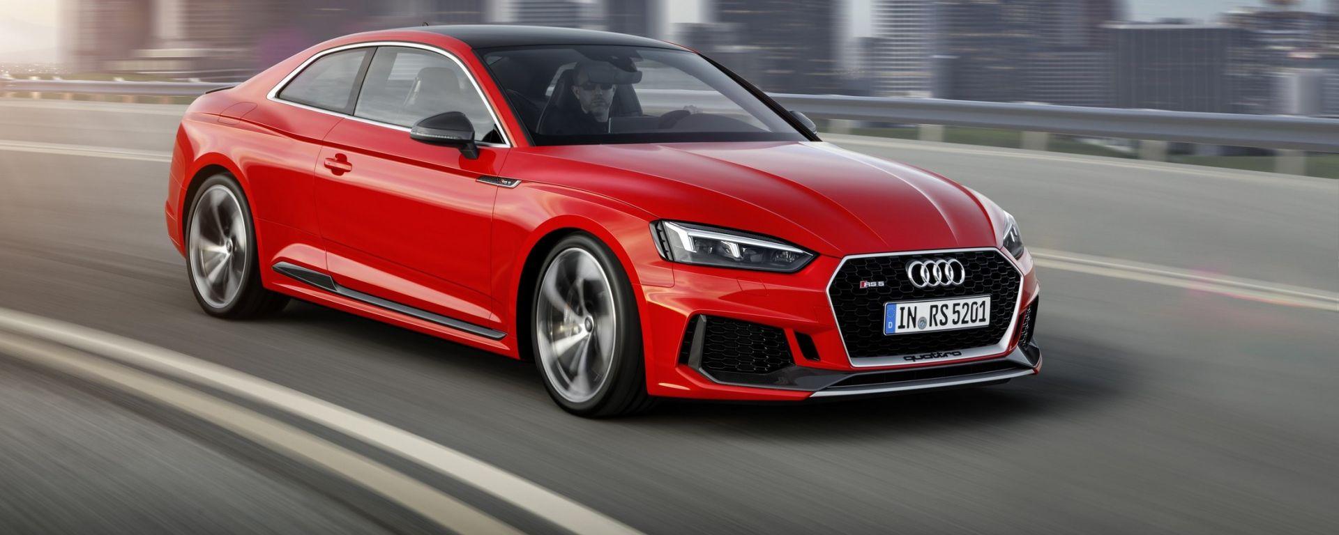 Audi RS5 Coupé: la prova su strada