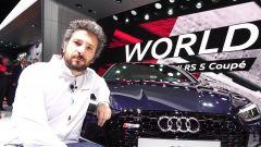 Audi RS5 Coupé e RS3 Sportback 2017: in video dal Salone di Ginevra 2017 - Immagine: 1