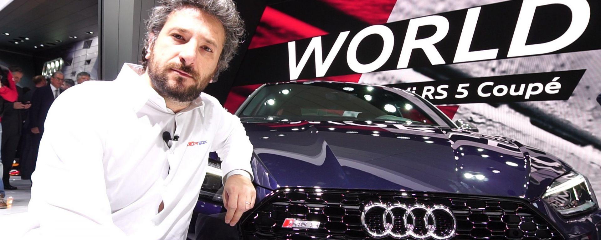 Audi RS5 Coupé, Salone di Ginevra 2017, video live dallo stand
