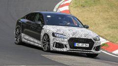 Audi RS5-R: foto spia del facelift ABT al Nürburgring con aggressività