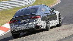 Audi RS5-R: foto spia del facelift ABT al Nürburgring, il retro