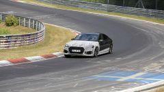 Audi RS5-R: foto spia del facelift ABT al Nürburgring, in curva
