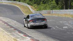 Audi RS5-R: foto spia del facelift ABT al Nürburgring, vista da dietro