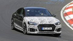 Audi RS5-R: foto spia del facelift ABT al Nürburgring vista da vicino