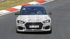 Audi RS5-R: foto spia del facelift ABT al Nürburgring, vista di fronte